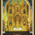 Vintage Postcard The Golden Altar Church of San Jose Panama City 1960s