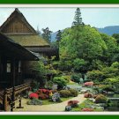 Vintage Postcard Sanpoin And Its Garden Kyoto Japan 1970