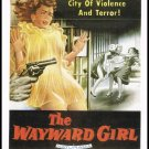 The Wayward Girl 1957 Movie Poster Large Postcard From The Great Trash Films Vintage 1989