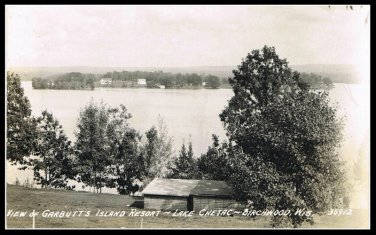 View of Garbutt's Island Resort Lake Chetac Birchwood