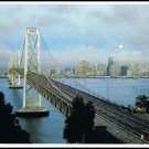 Vintage 1976 Postcard San Francisco Skyline John Wagner Collection California