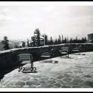 Vintage Postcard Timberline Lodge Oregon Front Terrace 1940s
