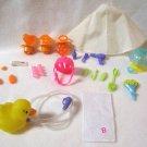 Barbie & Bratz Dolls 23 Piece Toys Accessories