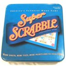 Super Scrabble Crossword Game in Collectible Tin America's Favorite Word Game Hasbro