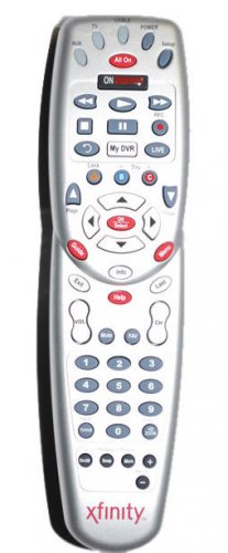 COMCAST/XFINITY Custom DVR 3 Device Universal Remote Control