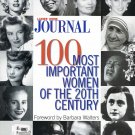 100 Most Important Women of The 20th Century Book Foreword By Barbara Walters Ladies' Home Journal