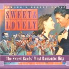 Sweet & Lovely The Sweet Bands Most Romantic Hits 4 Disc Set Music CDs 80 Songs