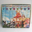 Pee Wee's Playhouse Videos Volumes 9 to 16 VHS Set in Slipcase 1990s