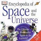 Encyclopedia of Space and The Universe CD Rom PC Software For Ages 10 & Up