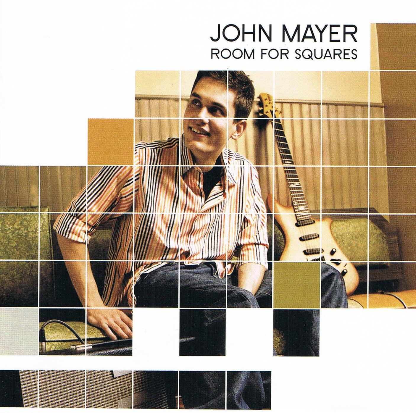 John Mayer Room For Squares Music CD Debut 14 Tracks
