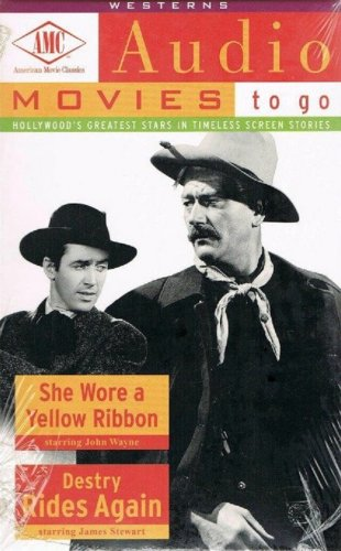 audio movies to go she wore a yellow ribbon destry rides again