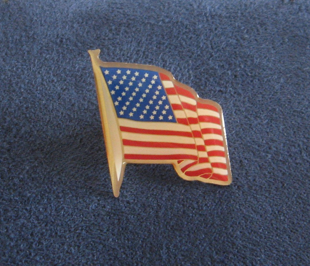 United States America USA Flag Tack Pin Patriotic New