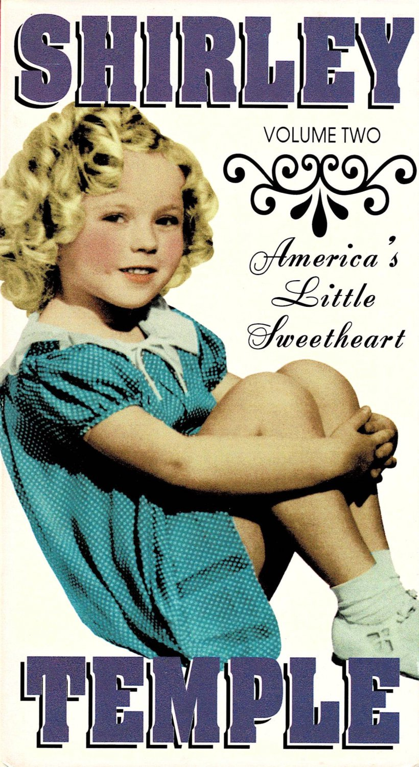 Shirley Temple Volume Two America's Little Sweetheart VHS Video