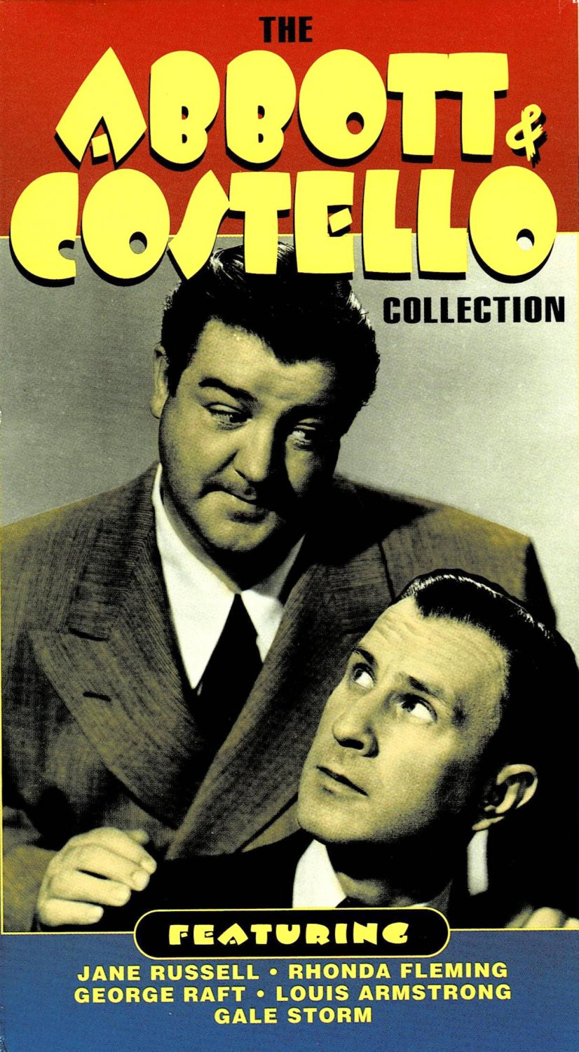 The Abbott & Costello Collection Jane Russell Louis Armstrong Gale Storm VHS Video Comedy 3 Hours
