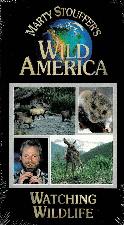 Marty Stouffer's Wild America Watching Wildlife Documentary VHS Video NEW