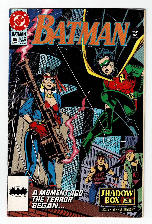 Batman No. 467 August DC Comic Book 1991