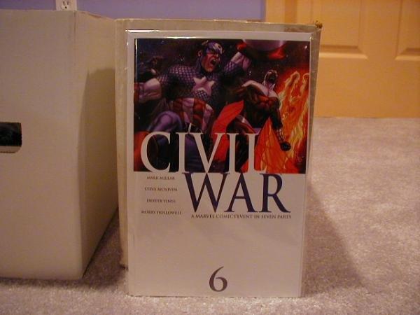 Civil War #6 NM