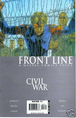 Civil War Front Line #3 NM