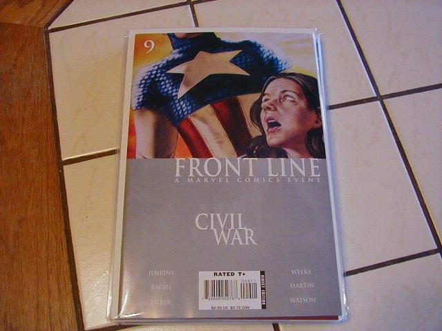 Civil War Front Line #9 NM