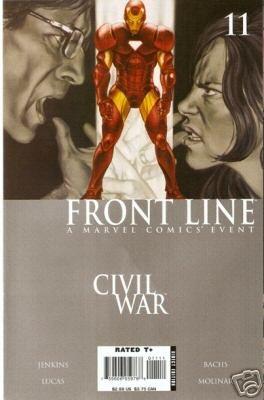 Civil War Front Line #11 NM