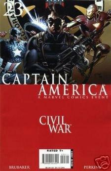 Captain America #23 NM    Civil War