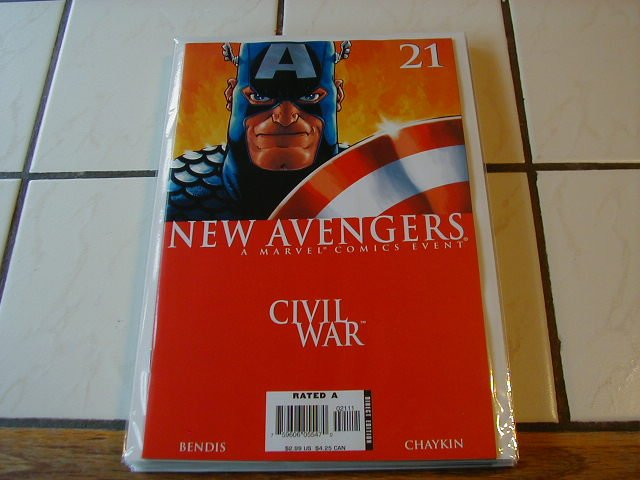 New Avengers #21  Civil War