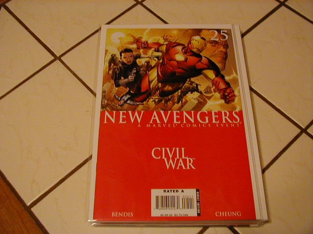 New Avengers #25 Civil War