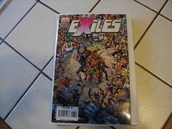 EXILES #86 WOLVERINE