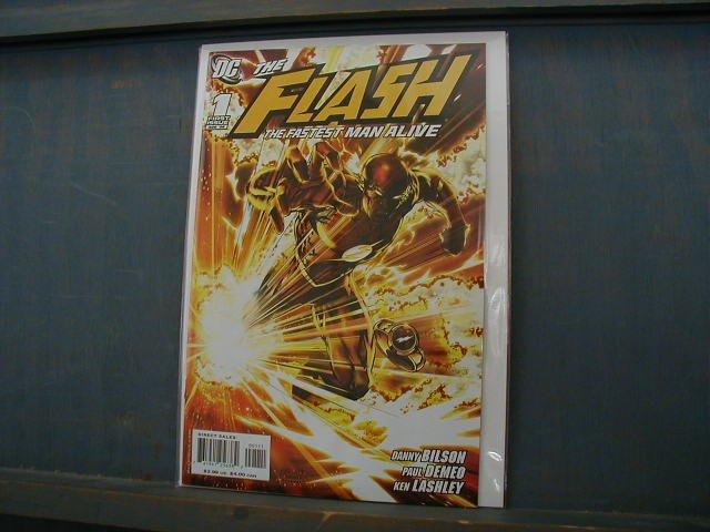 FLASH THE FASTEST MAN ALIVE #1 (2006)NM *SALE*