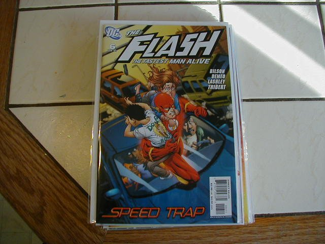 FLASH THE FASTEST MAN ALIVE #6 (2006)NM