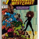 AVENGERS WEST COAST #48 VF+ SCARLET WITCH