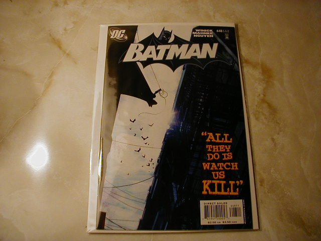 BATMAN #648 NM