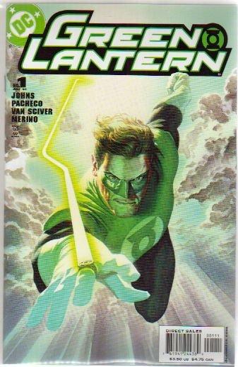 GREEN LANTERN #1A NM ALEX ROSS COVER (2006)