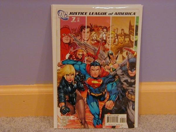 JUSTICE LEAGUE OF AMERICA #7 NM (2006) SUPERMAN COVER