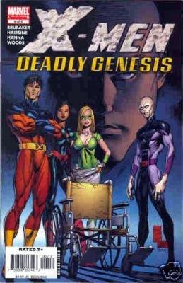 X-MEN DEADLY GENESIS #4 NM
