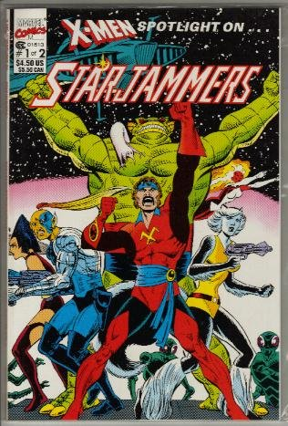 X-MEN STARJAMMERS #1 NM