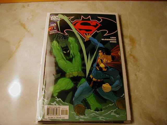 SUPERMAN BATMAN #23 NM