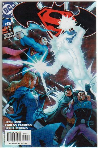 SUPERMAN BATMAN #18 NM