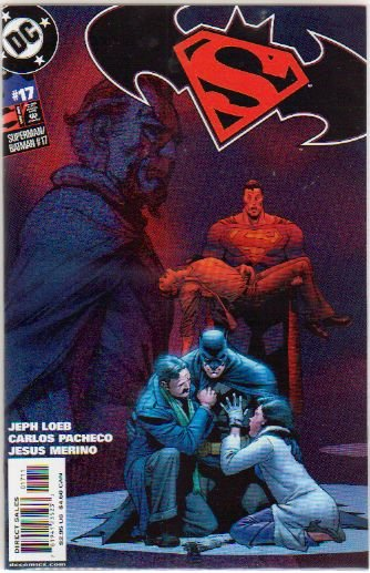 SUPERMAN BATMAN #17 NM
