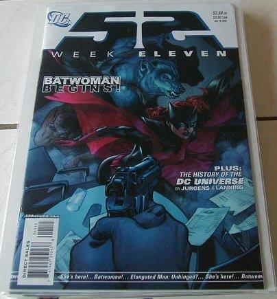 D.C WEEK #11 1st Batwoman