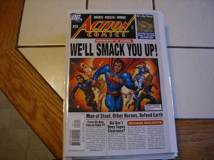 ACTION COMICS #843 NM