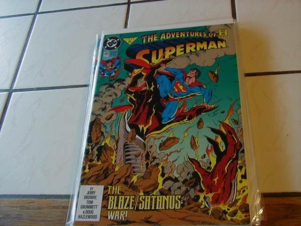 ADVENTURES OF SUPERMAN #493