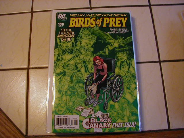 BIRDS OF PREY #100 NM