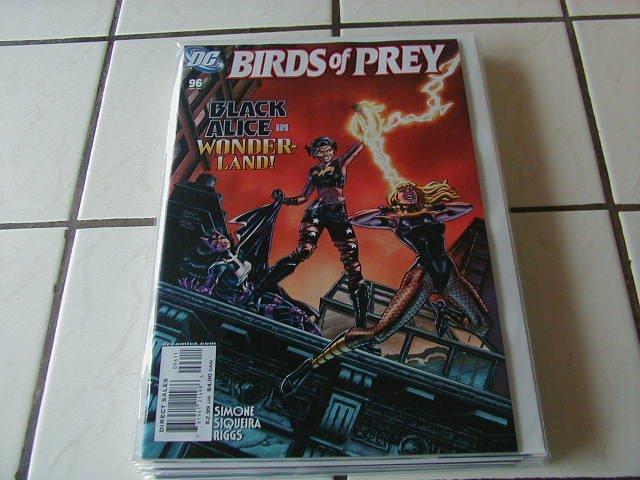 BIRDS OF PREY #96 NM