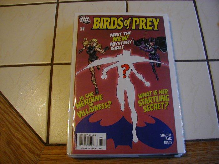 BIRDS OF PREY #98 NM