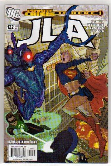 JLA #122 NM SUPERGIRL
