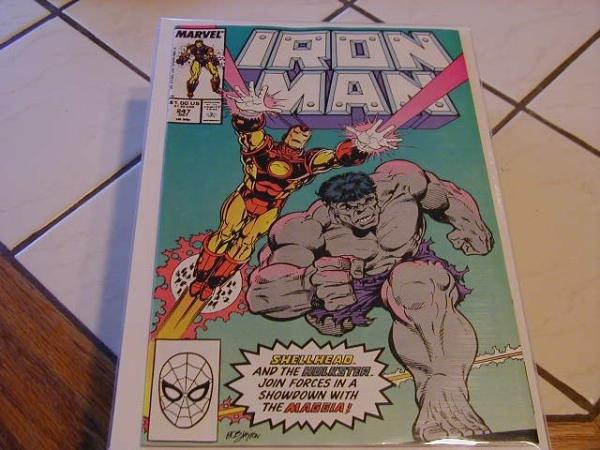 IRON MAN #247(1967) HULK