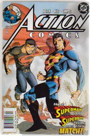ACTION COMICS #822 VF/NM