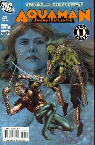 AQUAMAN SWORD OF ATLANTIS #41 NM (2006)