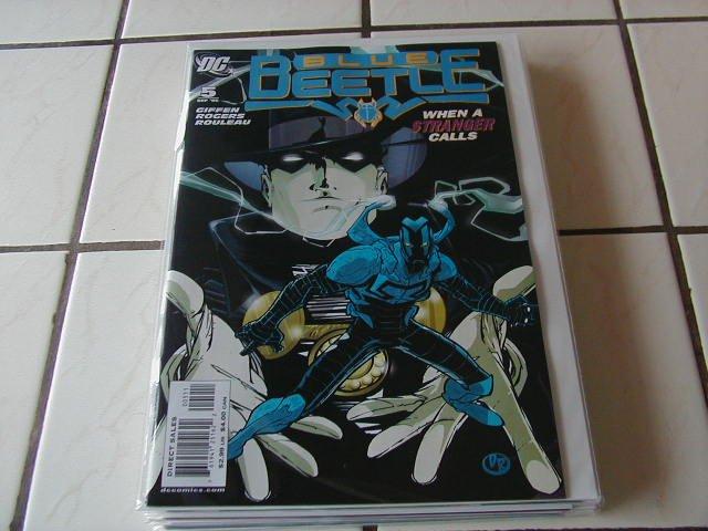 BLUE BEETLE #5 NM